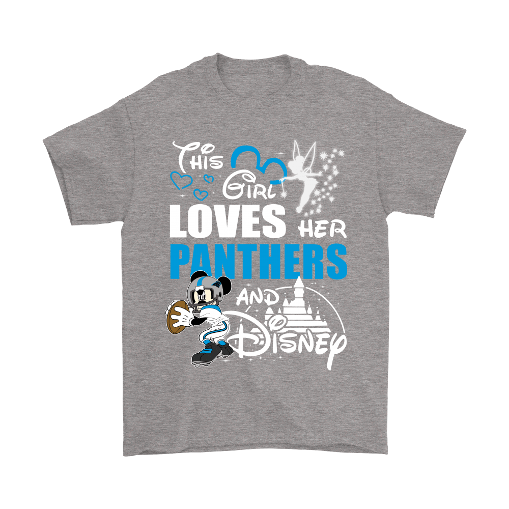 This Girl Loves Her Carolina Panthers And Mickey Disney Shirts 7