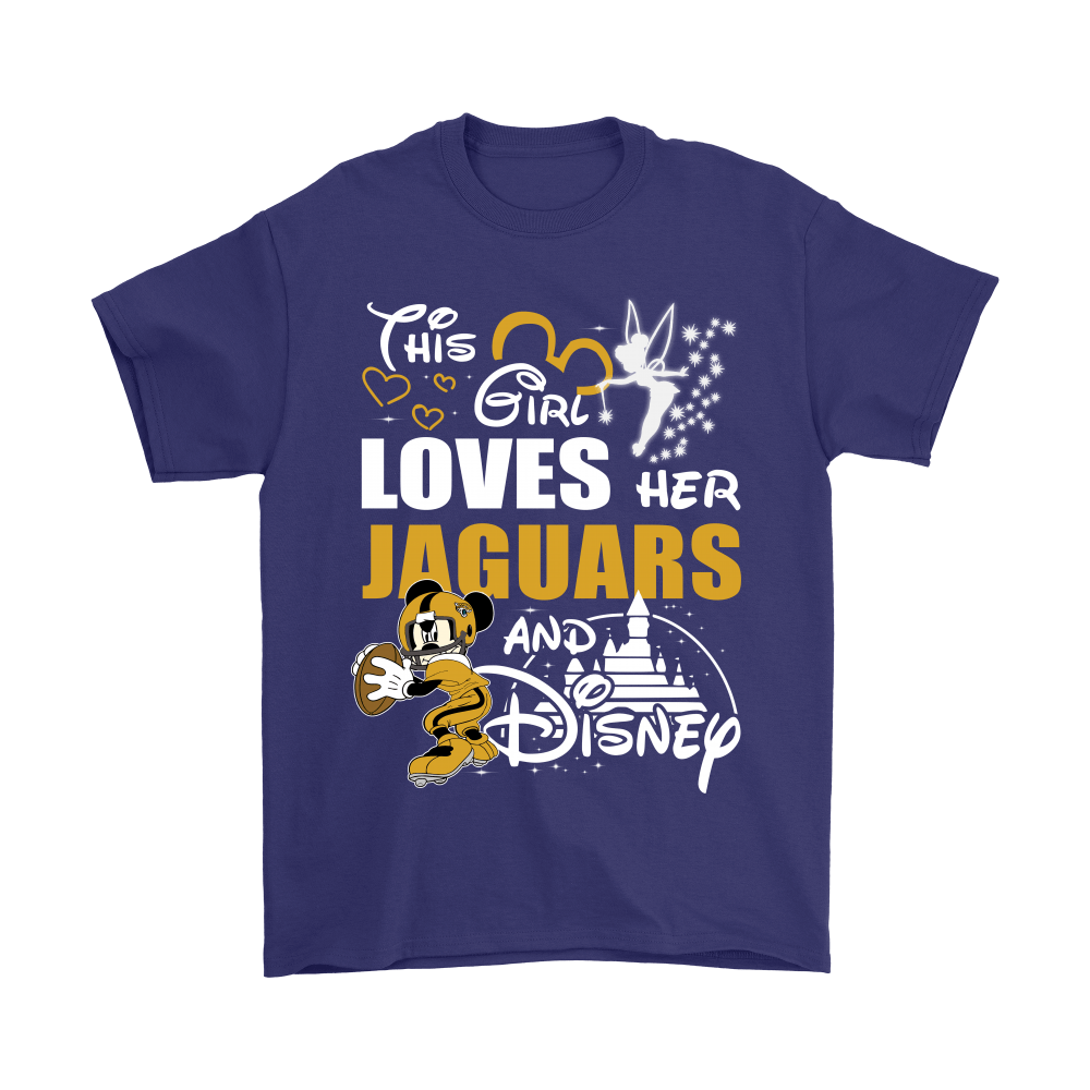 This Girl Loves Her Jacksonville Jaguars And Mickey Disney Shirts 4