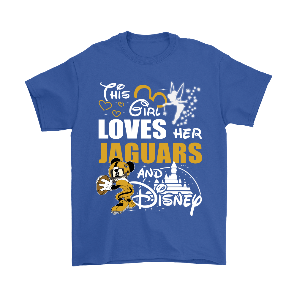 This Girl Loves Her Jacksonville Jaguars And Mickey Disney Shirts 6