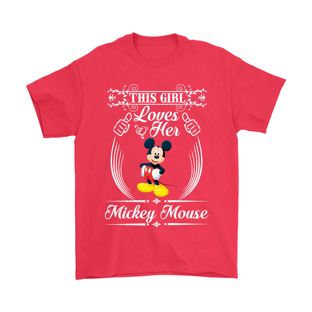 This Girl Loves Her Mickey Mouse Shirts 5