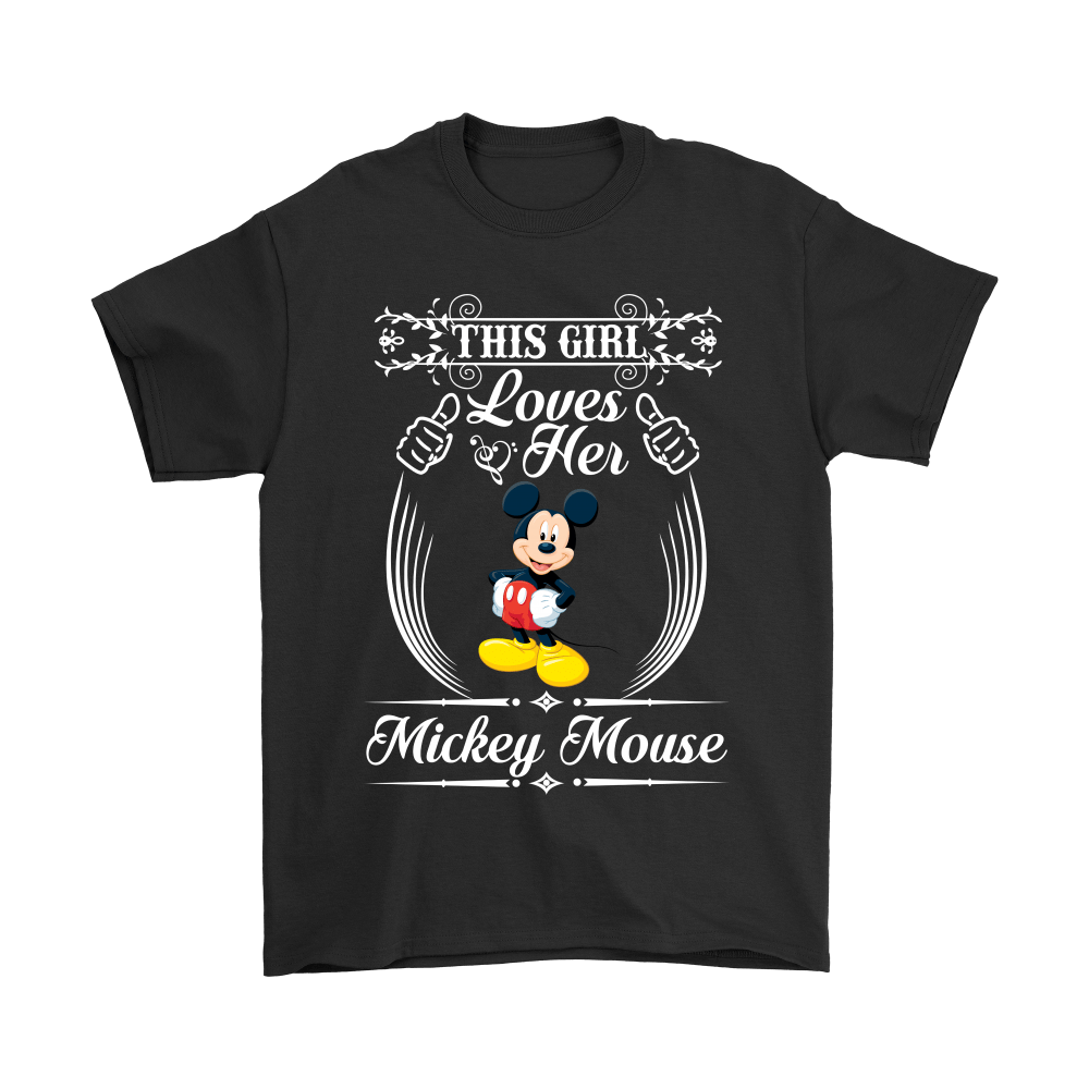 This Girl Loves Her Mickey Mouse Shirts 1