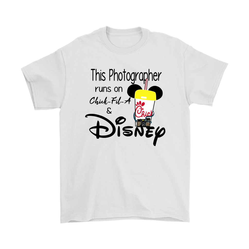 This Photographer Runs On Chick-Fil-A And Disney Shirts 1
