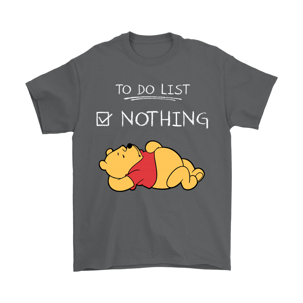 To Do List Nothing Winnie The Pooh Shirts 2