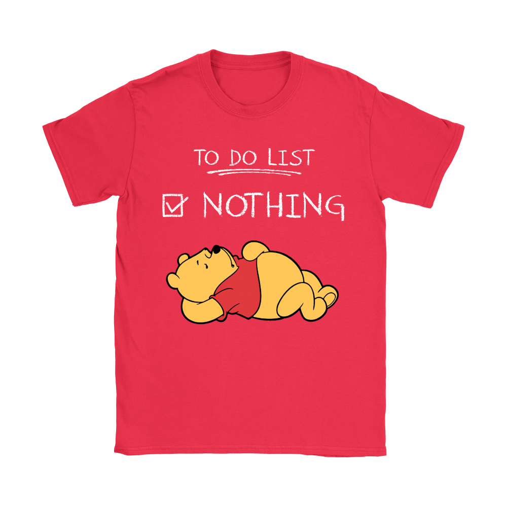 To Do List Nothing Winnie The Pooh Shirts 8