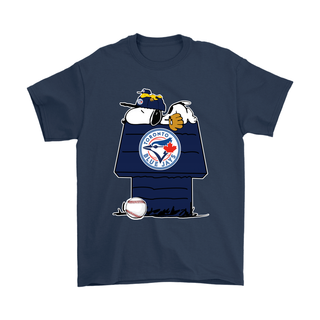 Toronto Blue Jays Snoopy And Woodstock Resting Together MLB Shirts 3