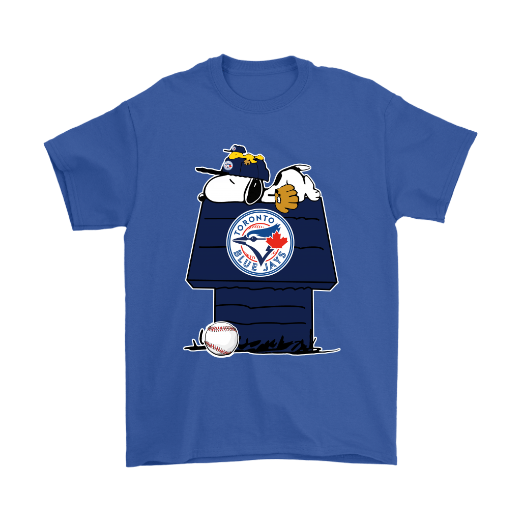 Toronto Blue Jays Snoopy And Woodstock Resting Together MLB Shirts 5