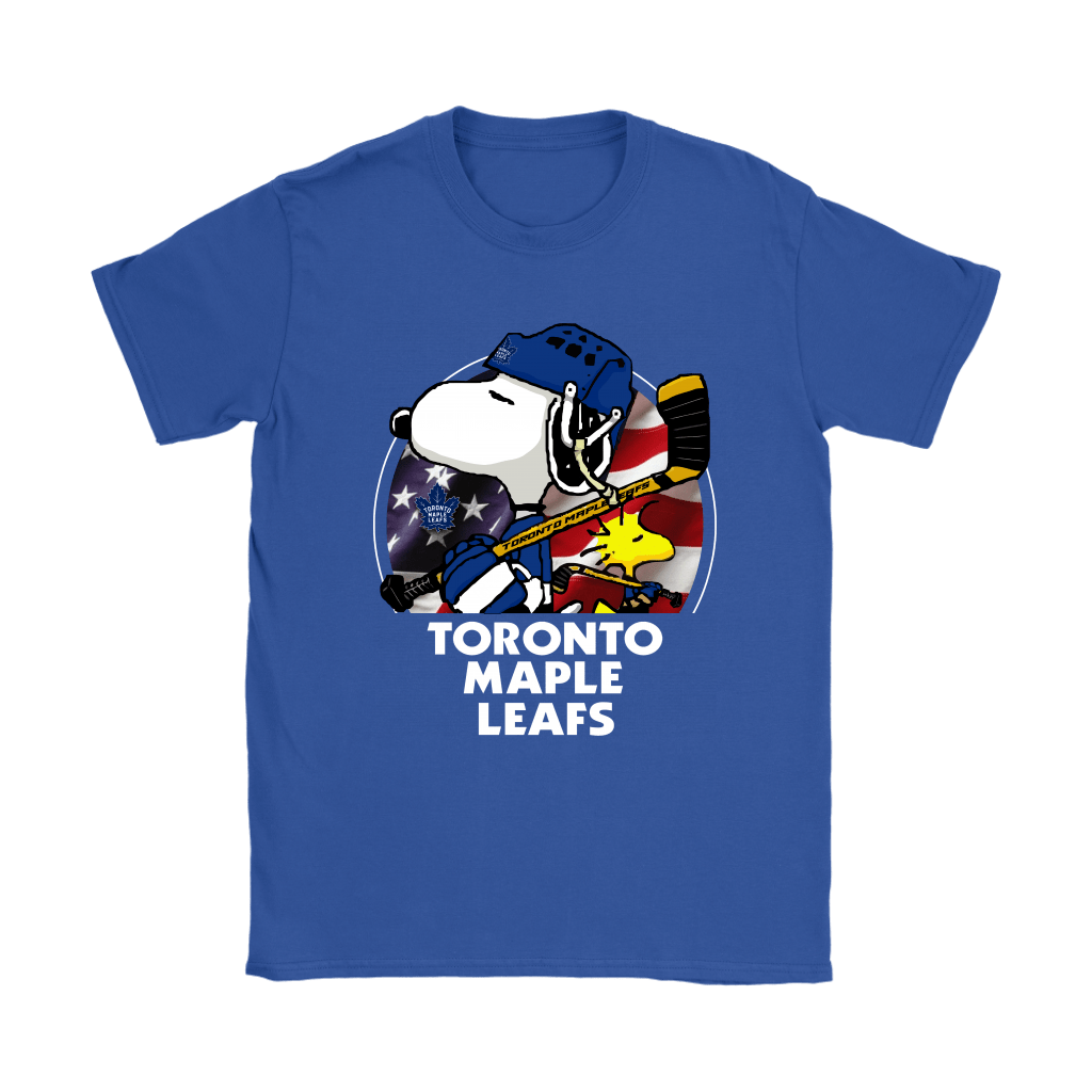 Toronto Maple Leafs Ice Hockey Snoopy And Woodstock NHL Shirts 11