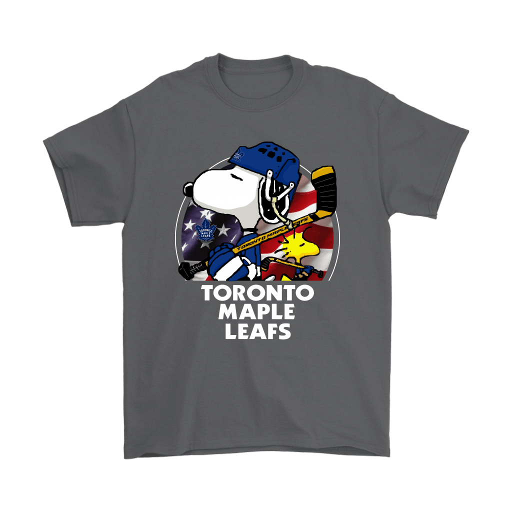 Toronto Maple Leafs Ice Hockey Snoopy And Woodstock NHL Shirts 2