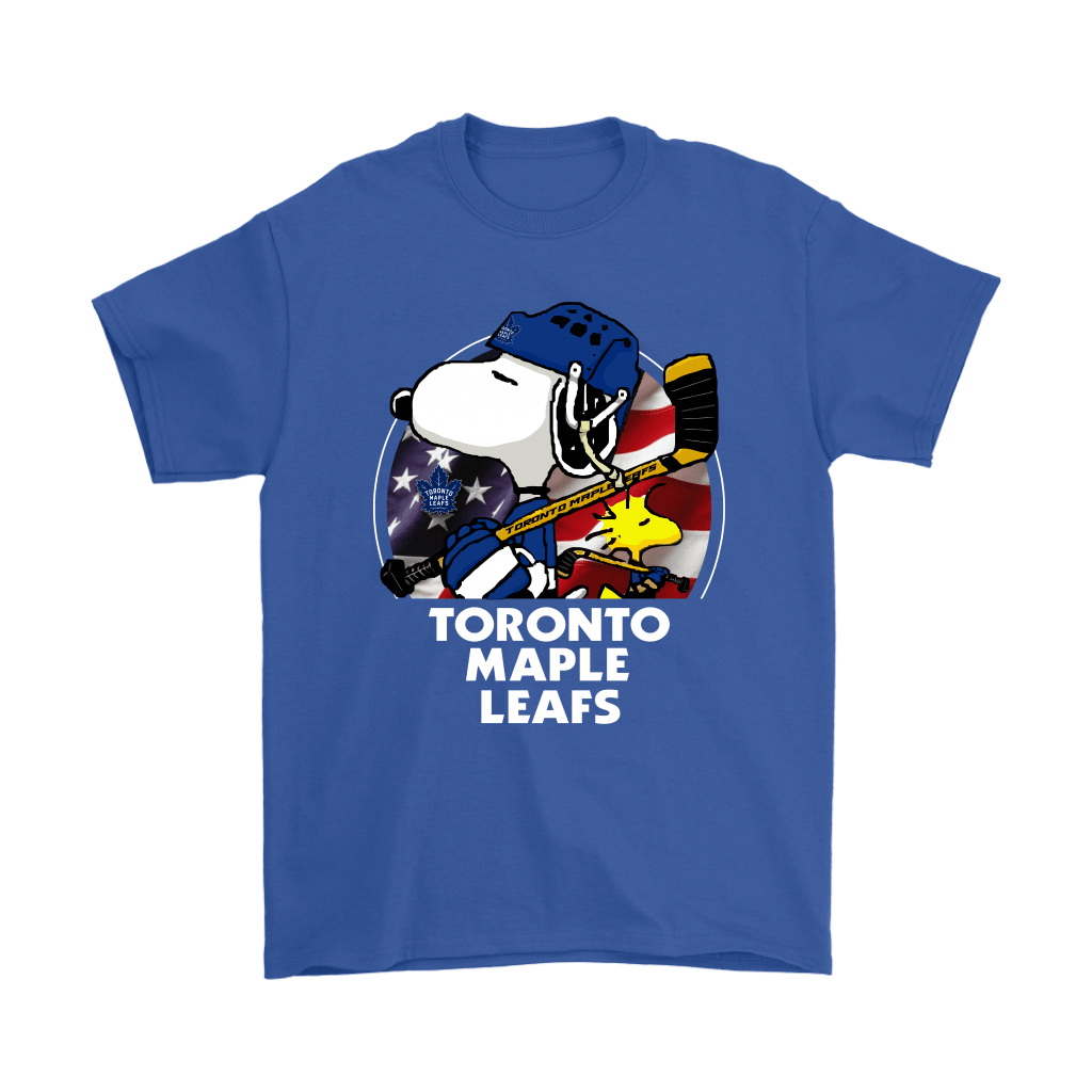 Toronto Maple Leafs Ice Hockey Snoopy And Woodstock NHL Shirts 5
