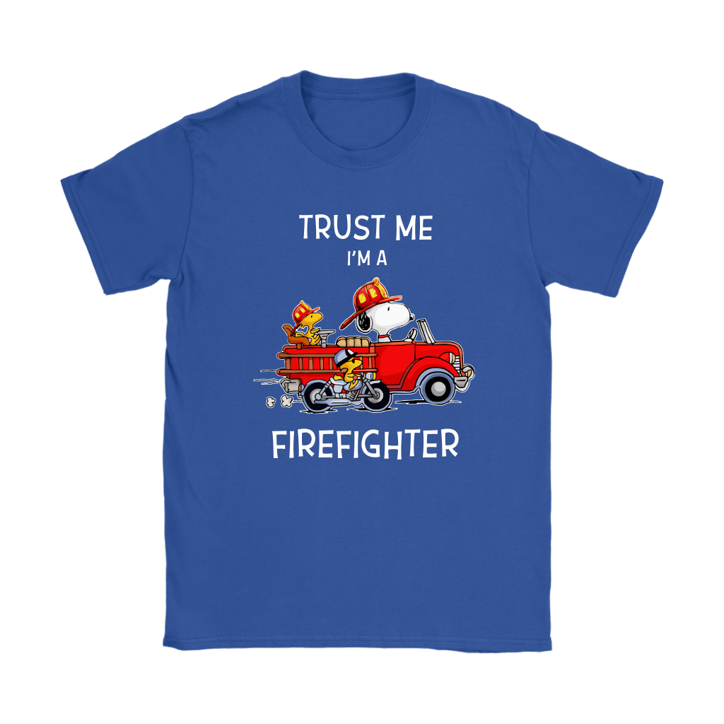 Trust Me I'm A Firefighter Snoopy Shirts 12