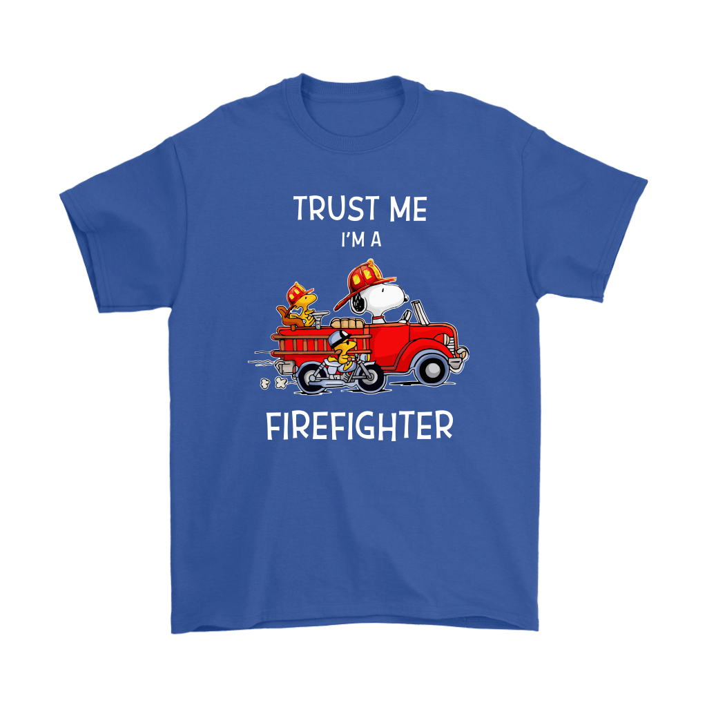 Trust Me I'm A Firefighter Snoopy Shirts 5