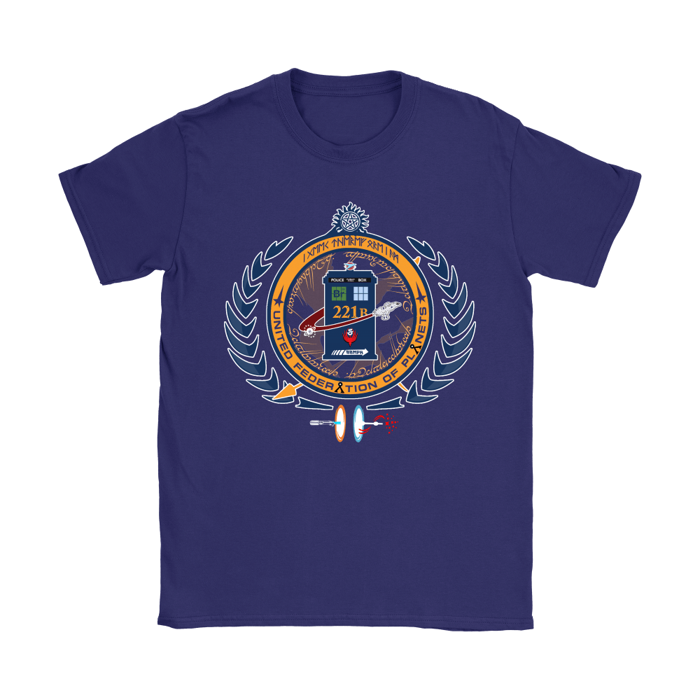 United Federation Of Planets And Universes Ultimate NERDs Shirts 9