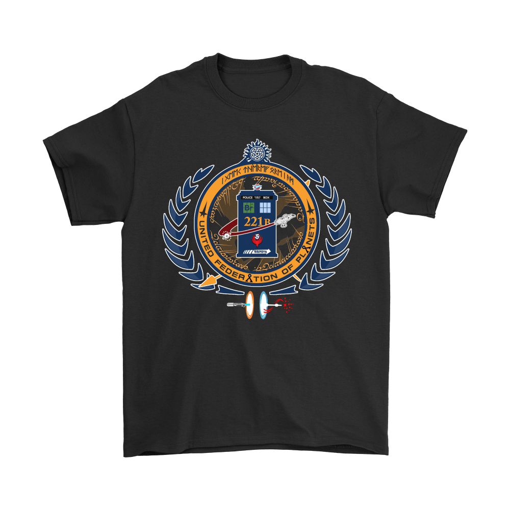 United Federation Of Planets And Universes Ultimate NERDs Shirts 1