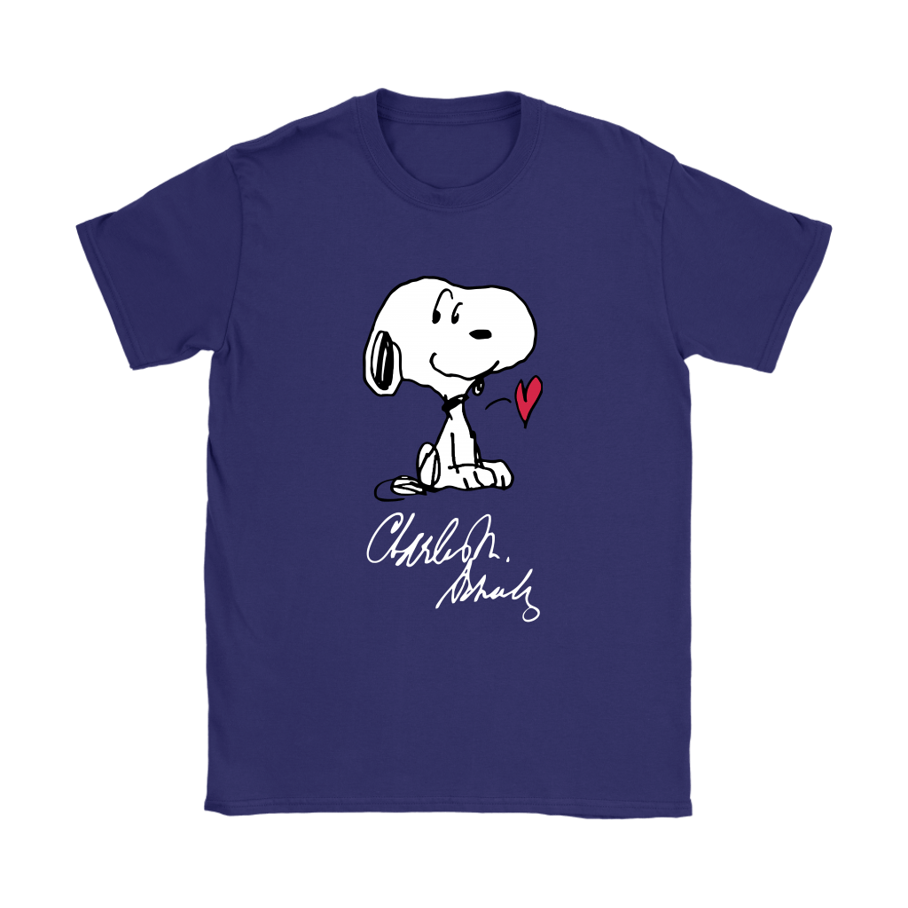 We All Love Charles M Schulz Snoopy Shirts 12