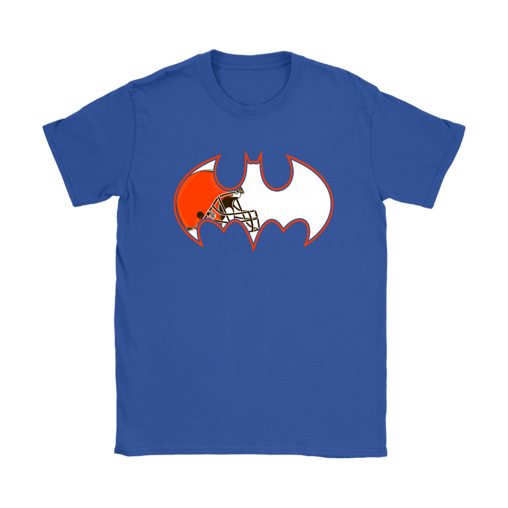 We Are The Cleveland Browns Batman NFL Mashup Shirts 11