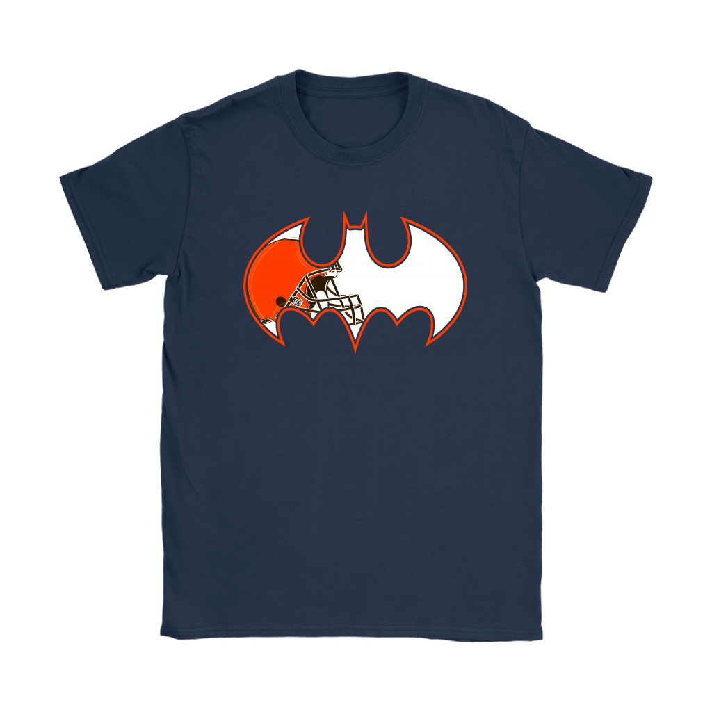We Are The Cleveland Browns Batman NFL Mashup Shirts 9