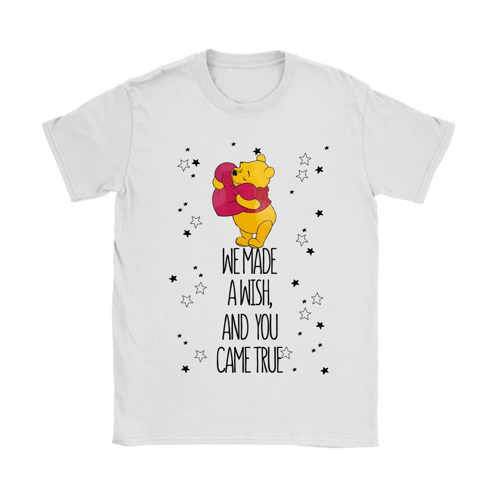 We Made A Wish And You Came True Pooh Shirts 2