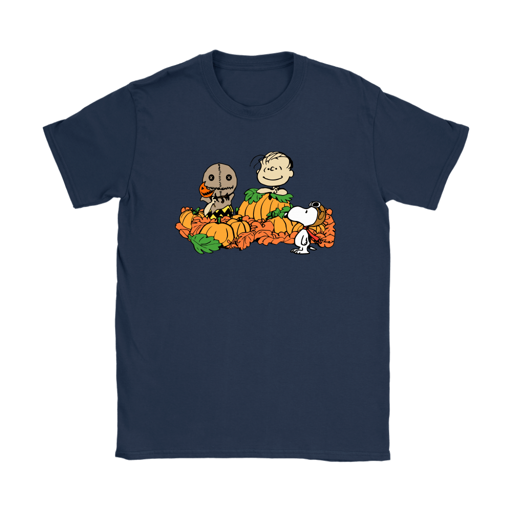 Welcome The Great Pumpkin Sam Brown Halloween Snoopy Shirts 10
