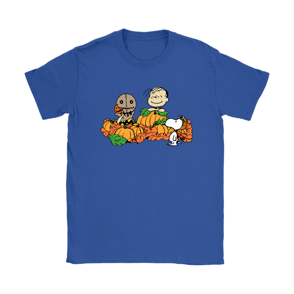 Welcome The Great Pumpkin Sam Brown Halloween Snoopy Shirts 12