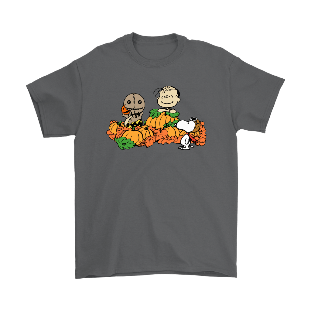 Welcome The Great Pumpkin Sam Brown Halloween Snoopy Shirts 2