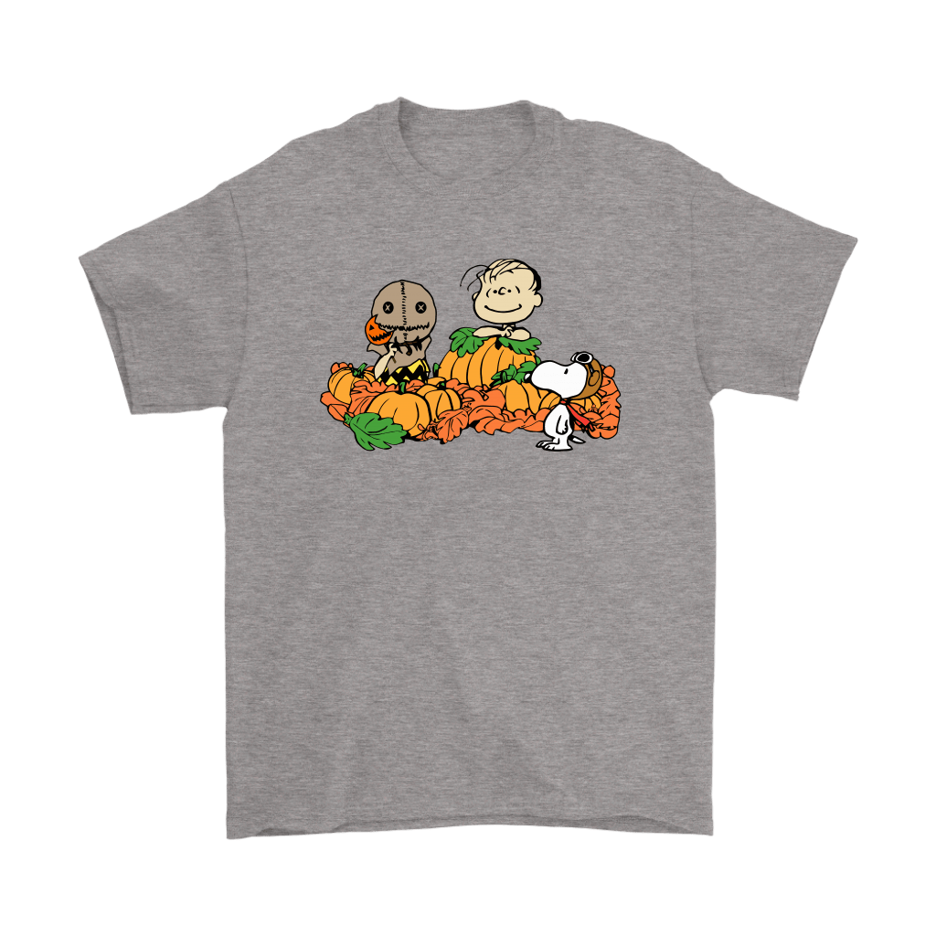 Welcome The Great Pumpkin Sam Brown Halloween Snoopy Shirts 6