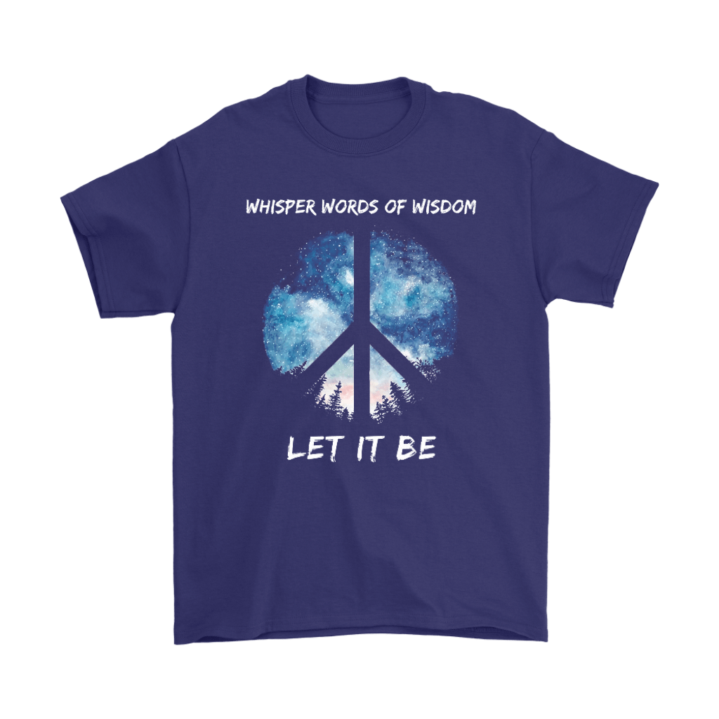 Whisper Words Of Wisdom Let It Be The Beatles Peace And Love Shirts 6