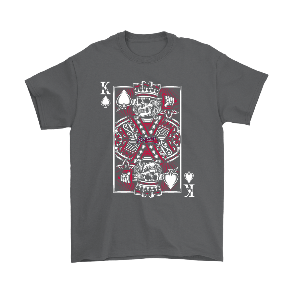 Atlanta Braves Spade King Of Death Card MLB Baseball Shirts 2