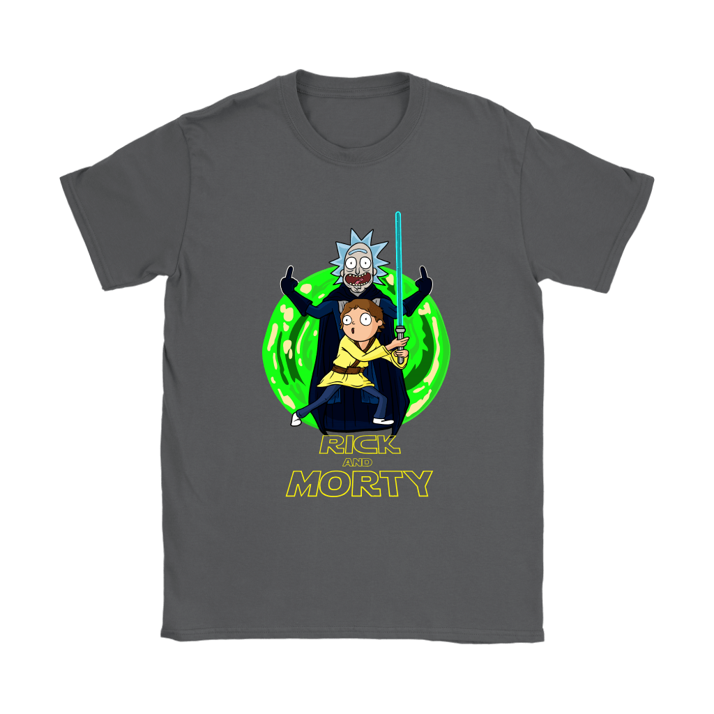Rick And Morty Darth Vader And Luke Star Wars Mashup Shirts 8