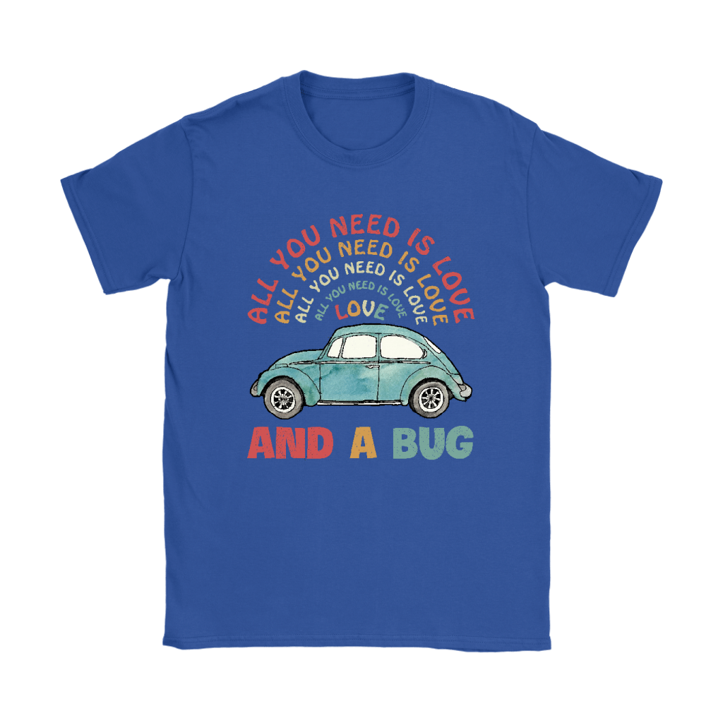 All You Need Is Love And A Bug The Beatles Car Shirts 11