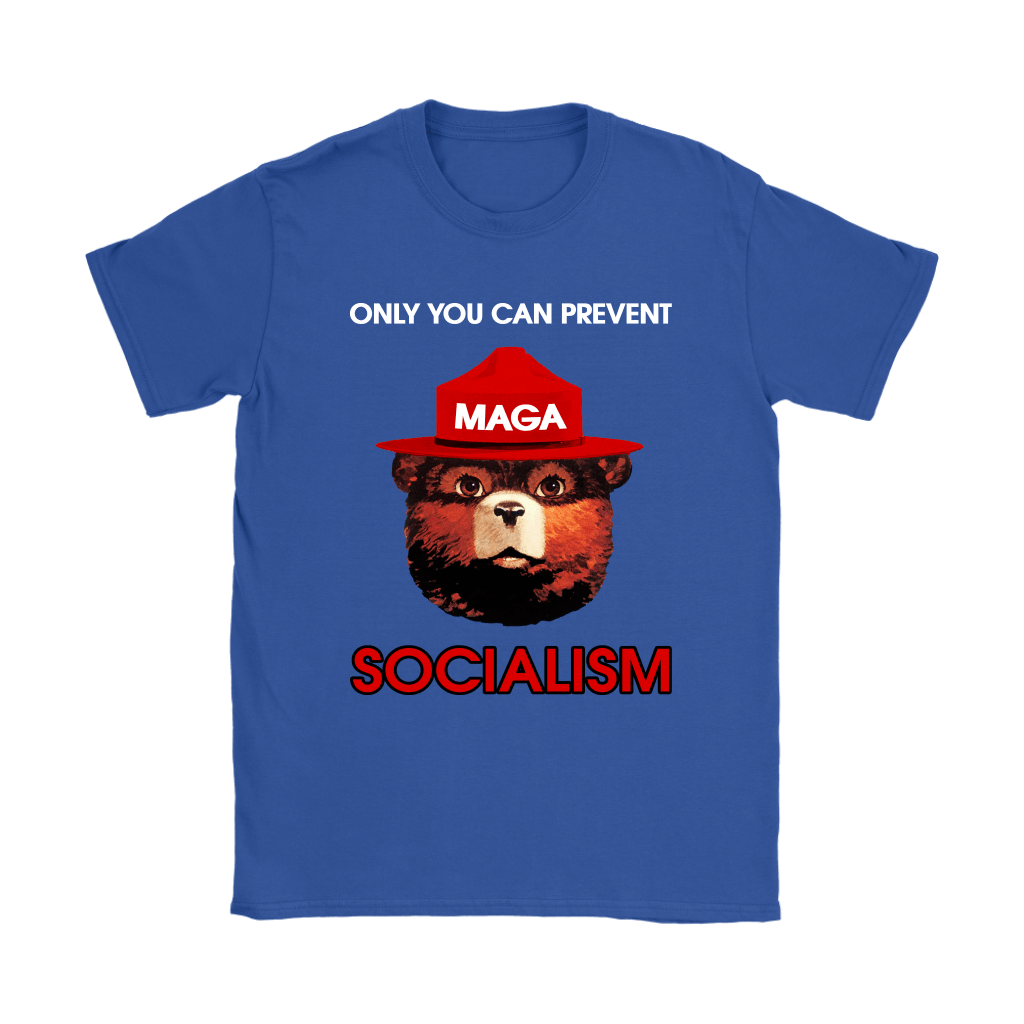 Smokey The Bear MAGA Only You Can Prevent Socialism Shirts 12