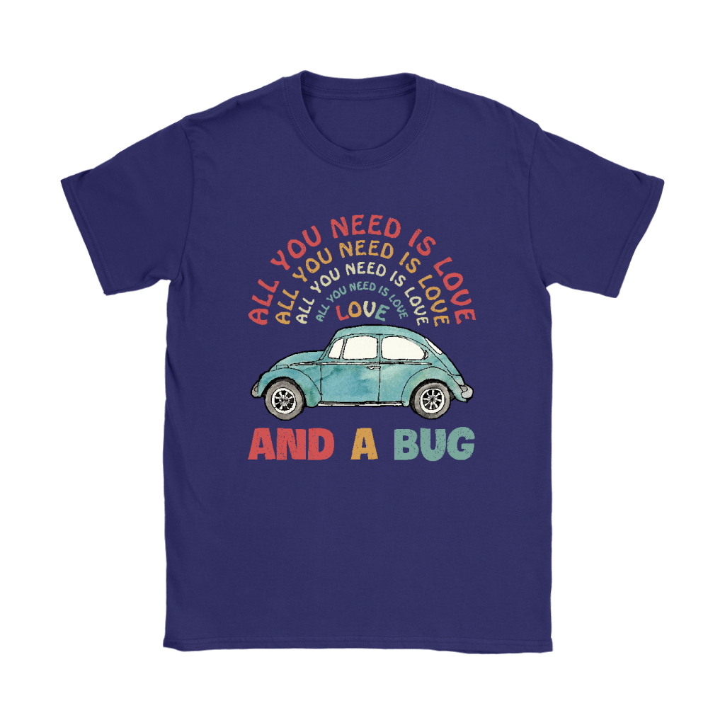All You Need Is Love And A Bug The Beatles Car Shirts 10
