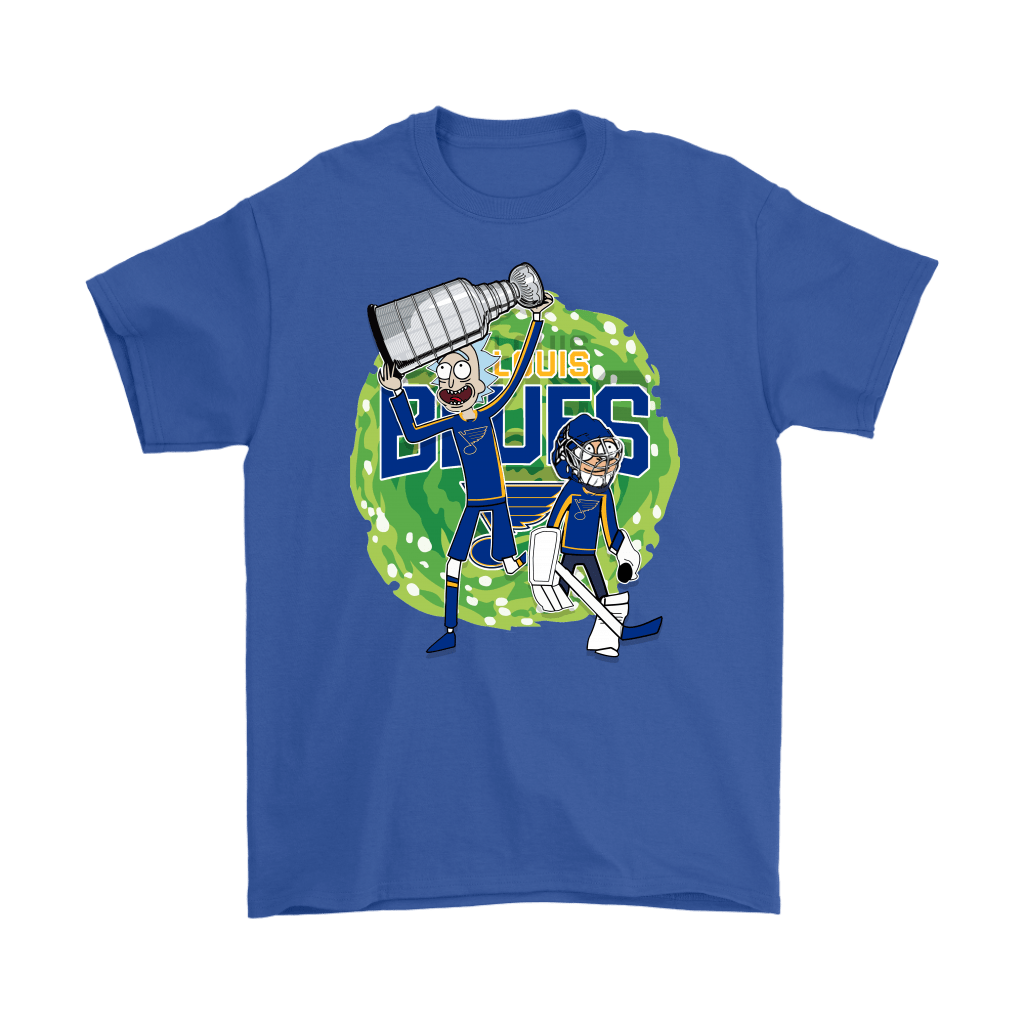 Rick And Morty St. Louis Blues Taking The 2019 Stanley Cup Shirts 5