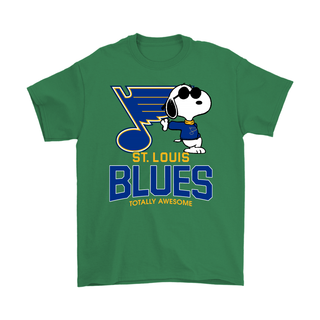 Joe Cool Snoopy St. Louis Blues Totally Awesome Shirts 7