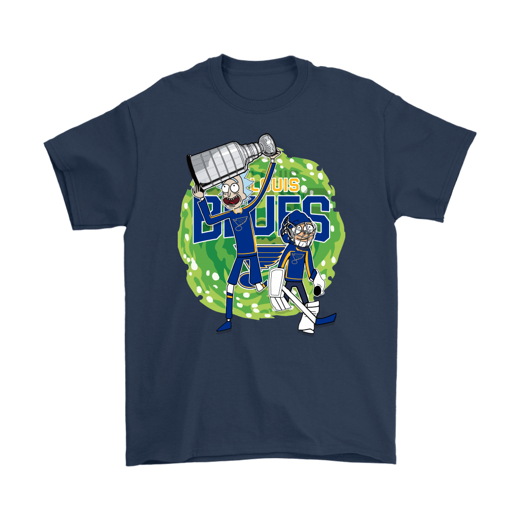 Rick And Morty St. Louis Blues Taking The 2019 Stanley Cup Shirts 3