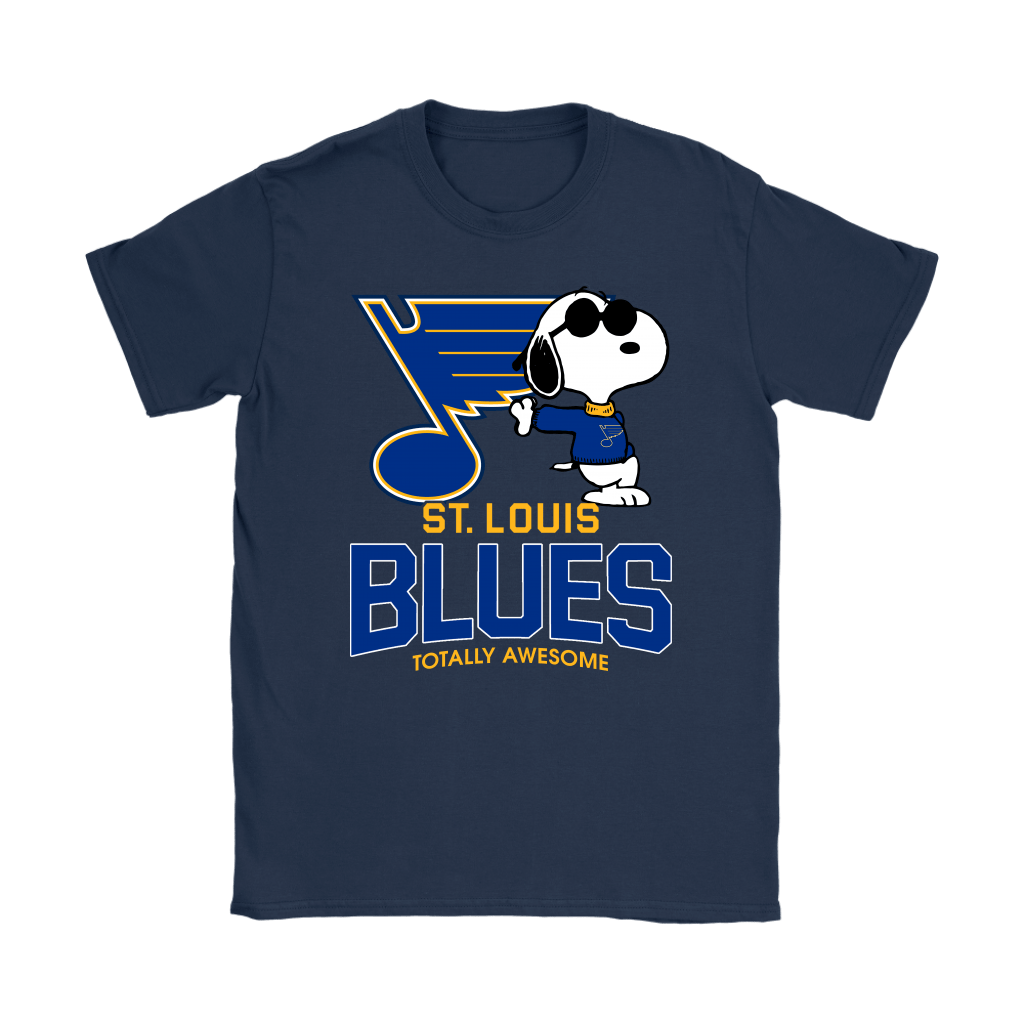 Joe Cool Snoopy St. Louis Blues Totally Awesome Shirts 11