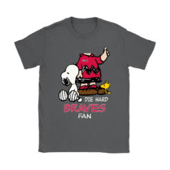 The Die Hard Atlanta Braves Fans Charlie Snoopy MLB Shirts 19