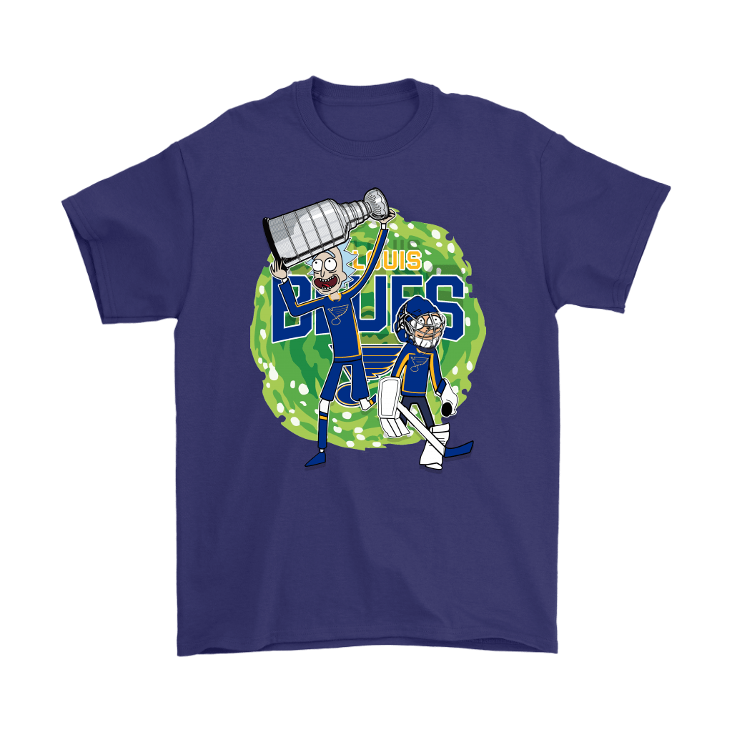 Rick And Morty St. Louis Blues Taking The 2019 Stanley Cup Shirts 4