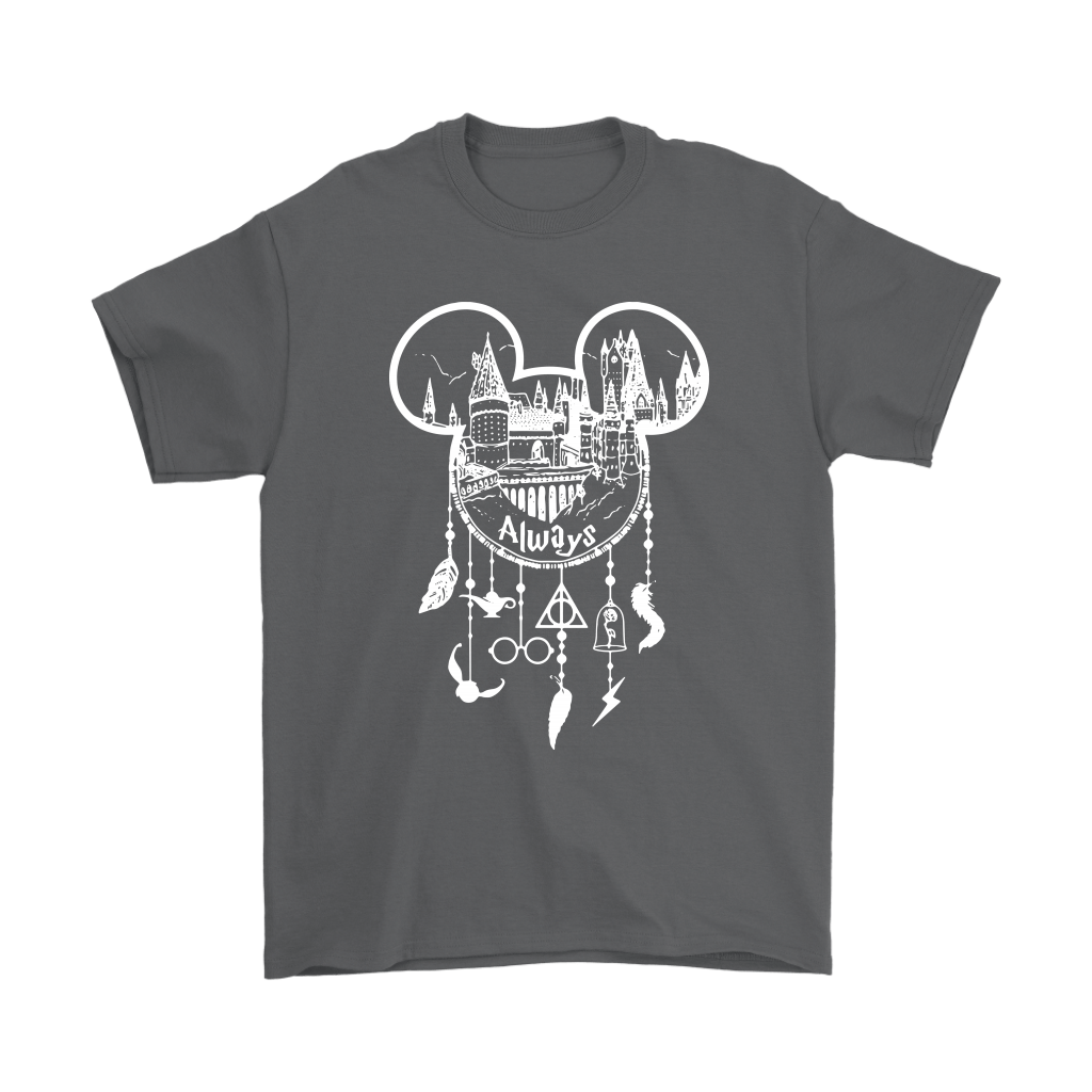 Hogwarts Mickey Head Harry Porter Disney Dream Catcher Shirts 2