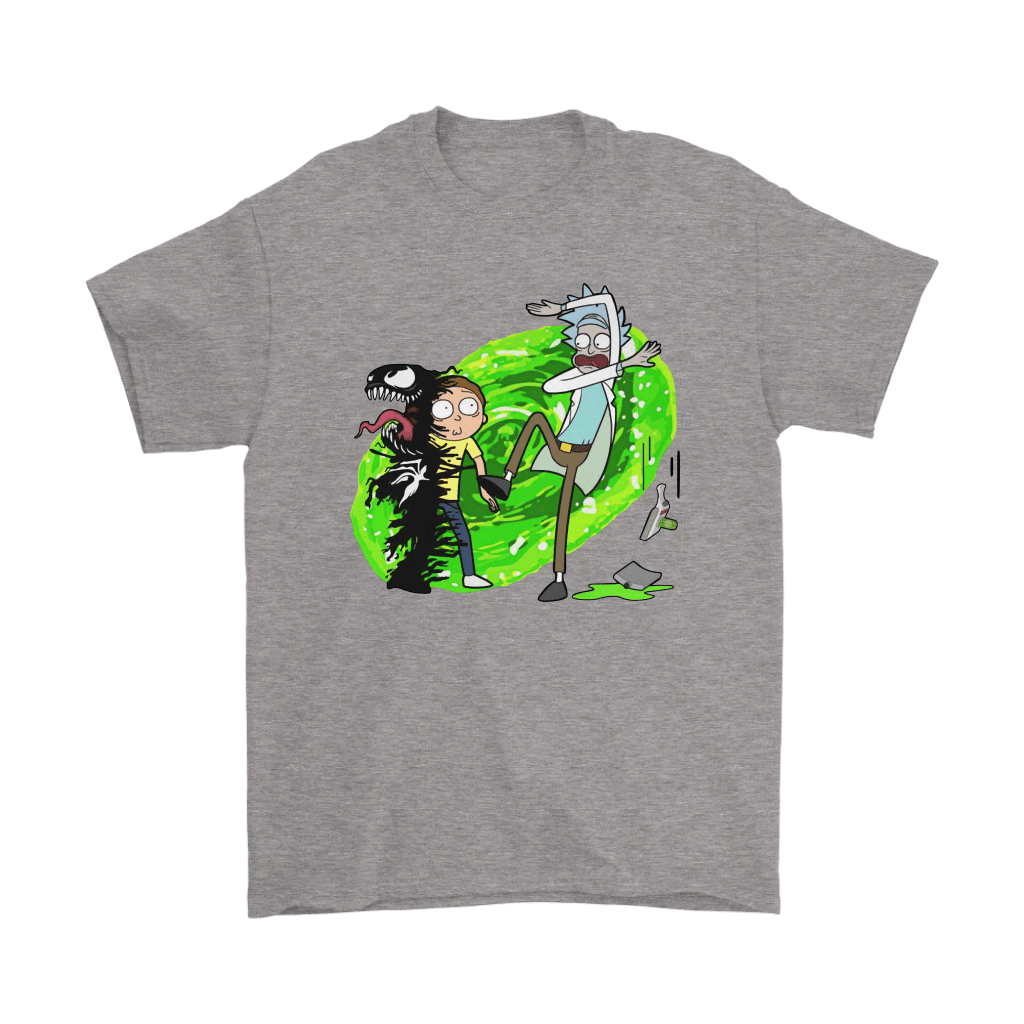 Morty Venom Rick And Morty Marvel Mashup Shirts 6