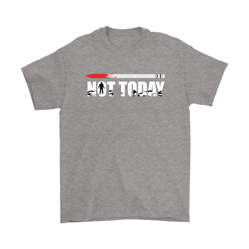 John Wick Pencil Game Of Throne Not Today Mashup Shirts 6