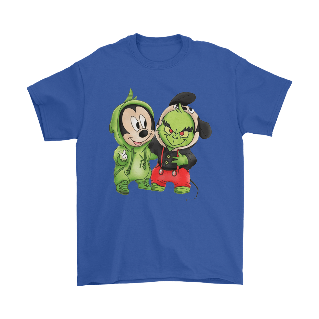 The Grinch Mickey Mouse Costume Exchange Shirts 5