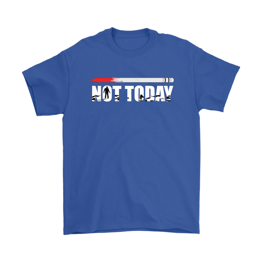 John Wick Pencil Game Of Throne Not Today Mashup Shirts 5