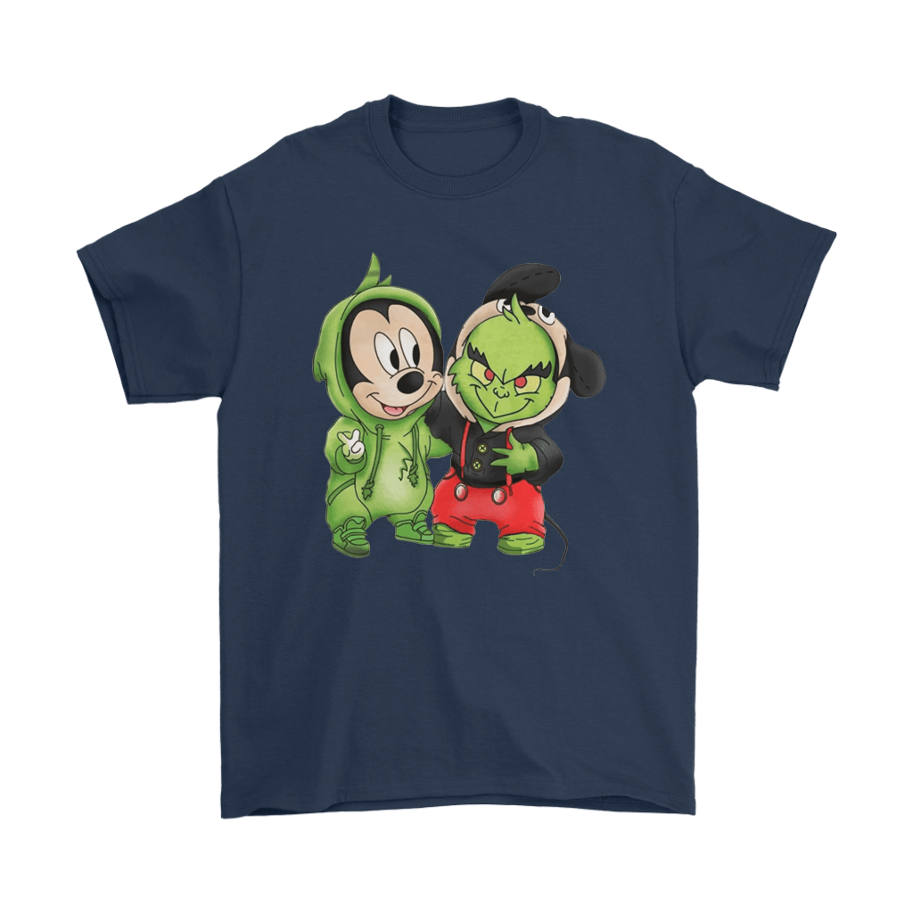 The Grinch Mickey Mouse Costume Exchange Shirts 3