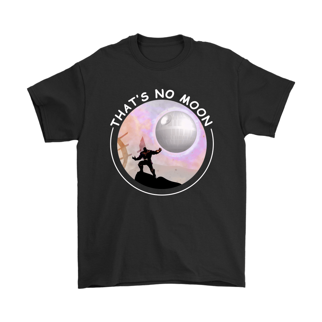 That's No Moon Thanos Hitting You With The Death Star Shirts 1