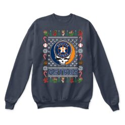 Houston Astros x Grateful Dead Christmas Ugly Sweater 9