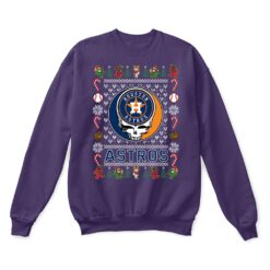 Houston Astros x Grateful Dead Christmas Ugly Sweater 10