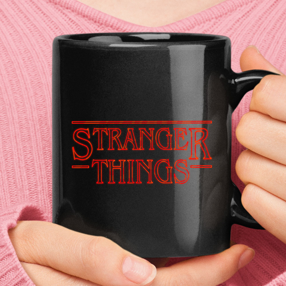 Stranger Things Movie Title Logo Mug 1