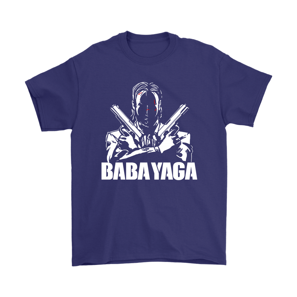 Shadow John Wick Dual Handguns The Babayaga Shirts 4