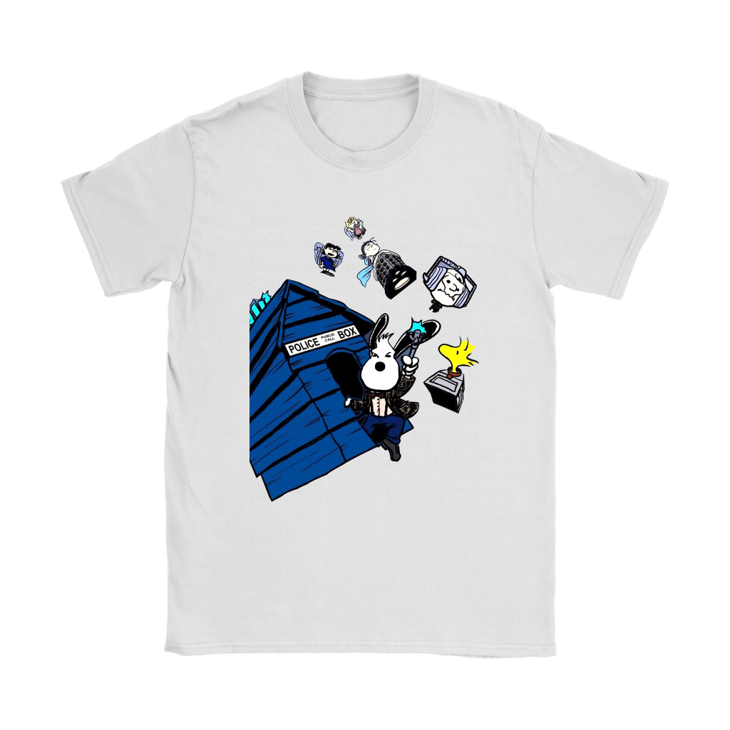 Doctor Who Snoopy And The Peanuts Mashup Shirts 4