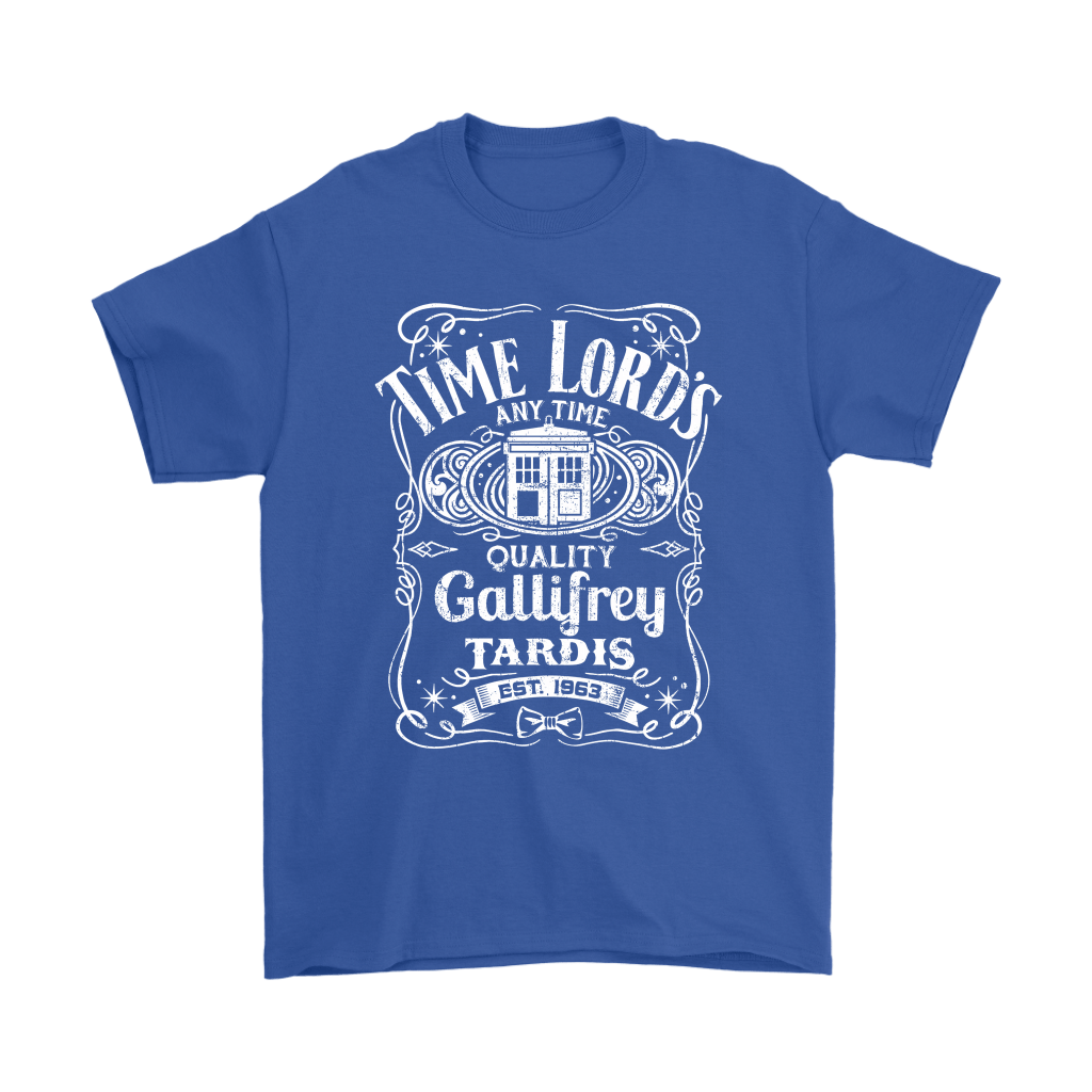 Time Lord's Any Time Quality Gallifrey Tardis Est. 1963 Shirts 5